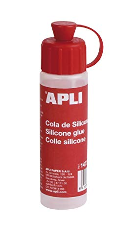APLI 14772 Colle silicone 25 ml