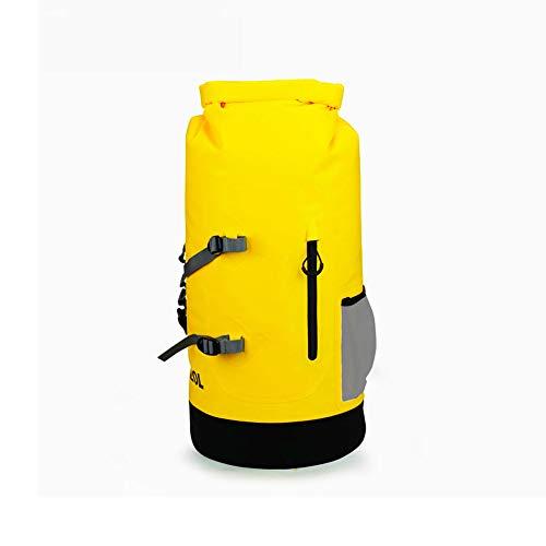 Voolok Mochila Seca Impermeable con Tapa Flotante de 20L, respetuosa con el Medio Ambiente y Duradera, cómoda y Conveniente, para Viajar en Kayak