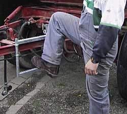 Dissel ladder 3-delig
