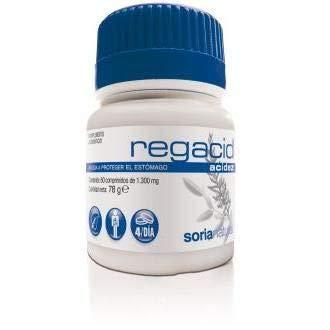 regacid comp 1300mg soria natural 60 comprimidos