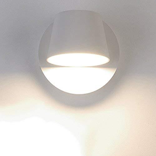 YLCJ LED wandlamp, E27 leeslamp hoofd, slaapkamer gang woonkamer hotels creatieve mode ideeën eenvoudige jeugd Noord-Europa dubbele -F 12x12 cm (5x5 inch)