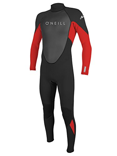O'Neill Reactor 2 Men's 3/2mm Full Wetsuit 3XL-Short Black/red/Black (5283IS)