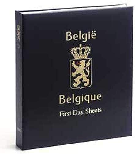 DAVO 2230 Luxus Briefmarken-Album Belgien First Day Sheets