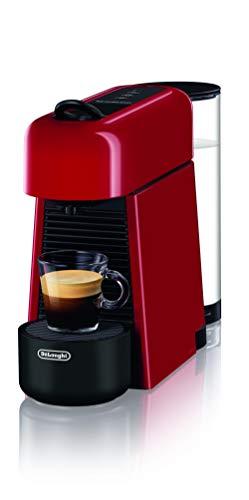 De Longhi EN200.R - Máquina de café con sistema de cápsulas Nespresso, de plástico, rojo