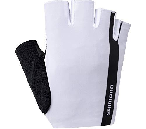 SHIMANO Value Handschuhe weiß/schwarz Handschuhgröße M 2021 Fahrradhandschuhe