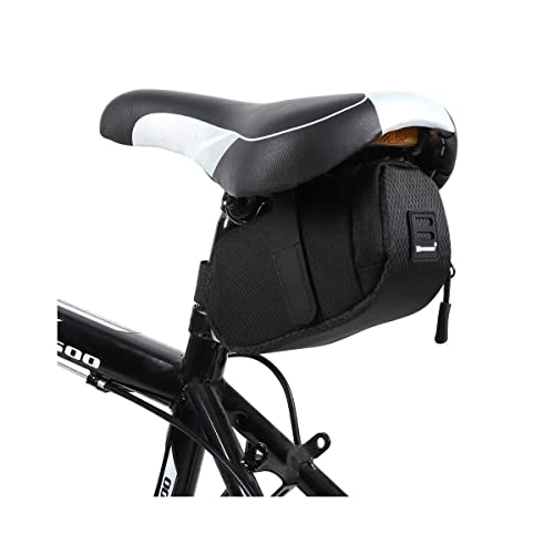 WOZINSKY Satteltasche Fahrradtasche Wasserdicht Reisetasche Tasche für Fahrrad, Mountainbike, ebike, MTB, Rennrad Bike Bag Fahrradtasche Sattel Fahrradsatteltasche 0,6 L