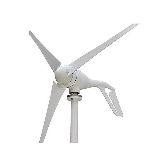 FJL Aerogenerador de Eje Vertical Nuevo generador de Viento 400W 3 Cuchillas o 5 Cuchillas Turbina de energía eólica con 600W Controlador Impermeable 12V 24V Aerogeneradores