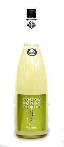 千代酒造 篠峯 純米80 無濾過生原酒 亀ノ尾 Vertにごりざけ2021年1月醸造 1.8L