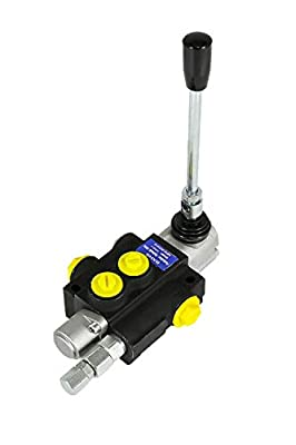 1 Spool Hydraulic Directional Control Valve Double Acting Cylinder Spool 13gpm by TaiShi