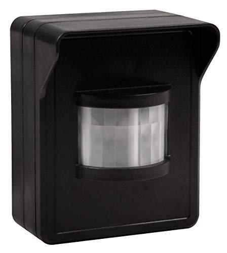 MC POWER - Funk-Bewegungsmelder für den Außenbereich | COMFORT | 433,9 MHz, max. 30m, Aufputz, IP44 | für die automatische Schaltung einer Lampe bei Bewegung