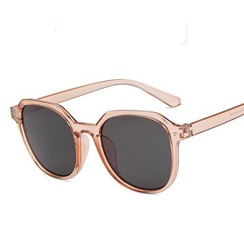 Gafas de Sol Sunglasses Gafas De Sol Redondas Retro Mujer Hombre Diseñador Mujer Gafas De Sol Espejo Feminino Lunette Soleil Cleartea