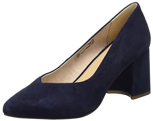 bugatti Damen 411913713400 Pumps, Blau (Dark Blue 4100), 42 EU