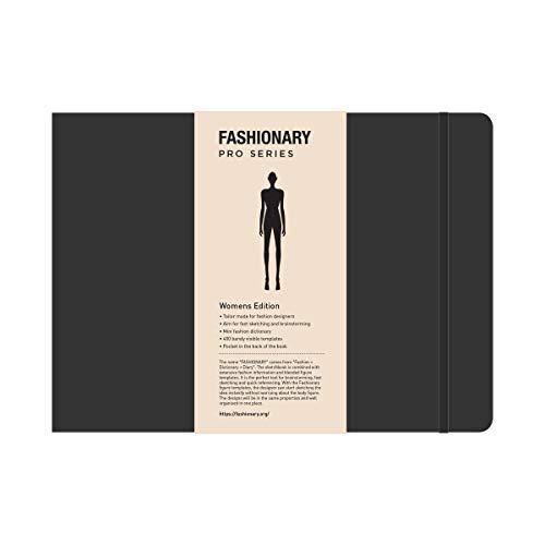 Fashionary: Fashionary Portfolio Womens Sketchbook A4