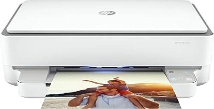 HP Envy 6020 5SE16B, Impresora Multifunción Tinta, Color, Imprime, Escanea y Copia, Wi-Fi, USB 2.0, HP Smart App, Incluye 3 Meses del Servicio Instant Ink, Blanca