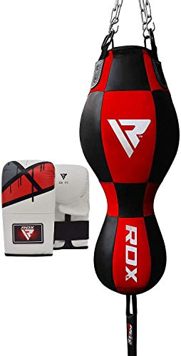 RDX Sac De Frappe Boxe 3 en 1 Lourd Angle Haut du Corps Vitesse De Balle Rempli MMA Pied Poing Kickboxing Muay Thai