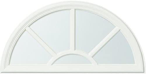 ODL Sunburst Style Design Front Door Glass Replacement Entry Door Insert Kit with Clear Tempered product image
