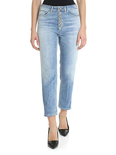 DONDUP Luxury Fashion Donna DP268BDF0229V92800 Azzurro Jeans | Stagione Outlet