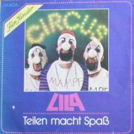 Circus Lila - Teilen Macht Spaß - AMIGA - 8 45 287
