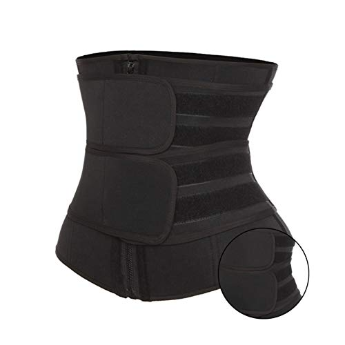 ZFLY-JJ Cinturón de recortador de la Cintura, Cinturón de Entrenador de la Cintura Cinturón de Adelgazamiento Ajustable Accelerates Pérdida de Peso y Saunaefect & Fat Burning Premium Sweat Cinturón