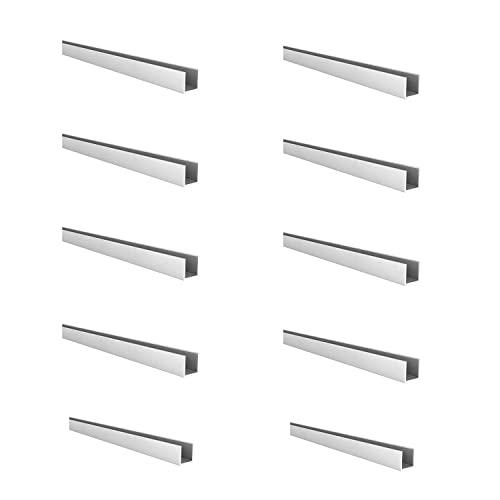REI | 10 Perfiles en Forma de U en Aluminio | Fabricado...