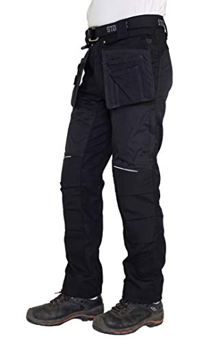 STØRVIK Cordura Canvas Werkbroek Heren Zwart - XS-3XL - MARC