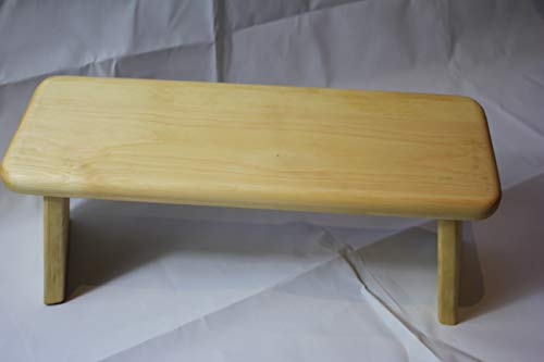 Pine meditation stool