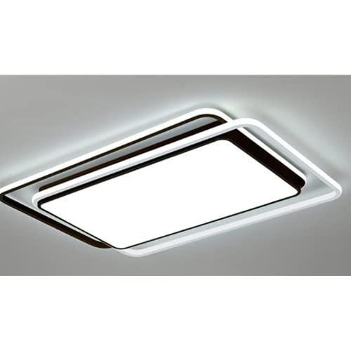 Led Lámpara De Techo Regulable Sala De Estar Plafón De Techo Dormitorio Con Mando A Distancia Los 95 * 62Cm Luz Blanca Lámparas De Balcón De Moda De Hierro Forjado