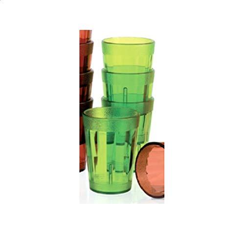Visiodirect Boite de 12 Bobelets Lime 16 cl