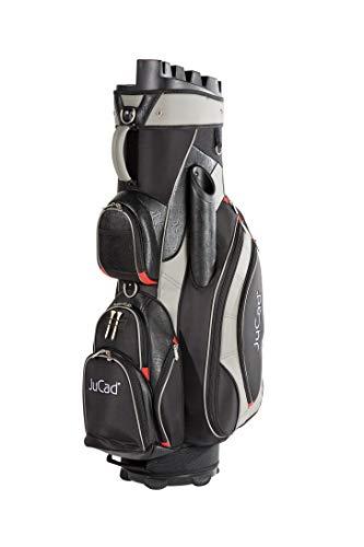 JuCad Bag Manager I Golfbag I Trolly I Golftasche I Schirmfach I Tragegriff I Farbe Schwarz-Titan