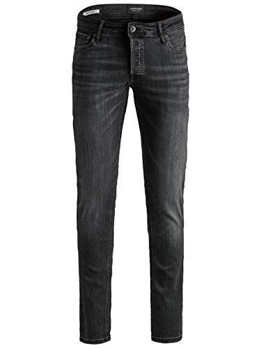 JACK & JONES Damen Jjiglenn Jjoriginal Am 817 Noos Jeans, Schwarz (Black Denim), 30W / 30L