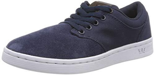 Supra Unisex-Erwachsene Chino Court Sneaker, Blau (Navy/Demitasse-White 449), 41 EU