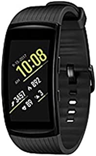 Samsung Gear Fit2 Pro SM-R365 Smart GPS Band - Wrist - Accelerometer, Pedometer, Barometer, Heart Rate Monitor, Gyro Sensor - Music Player - Heart Rate, Speed, Calories (Certified Refurbished)