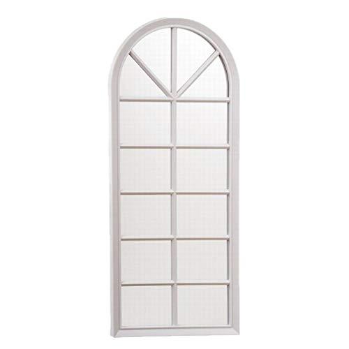 Nahuel Home Espejo Blanco de plástico Medidas 32.5 x 75 x 3 cm
