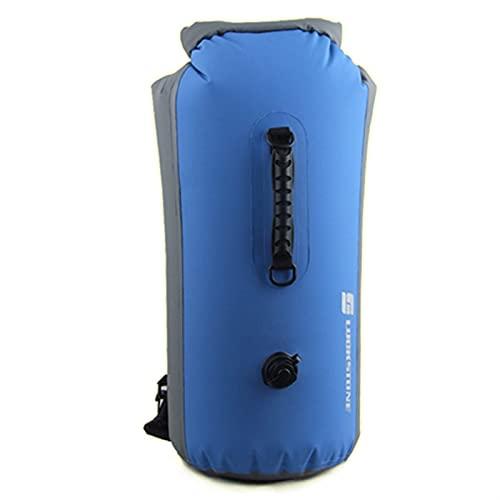 WGFGQX Borsa da Bagno Impermeabile Professionale Gonfiabile Snorkeling Rafting Drifting subacqueo Sacchetto Secco Zaino FZHJBLP (Color : Blue, Size : B)