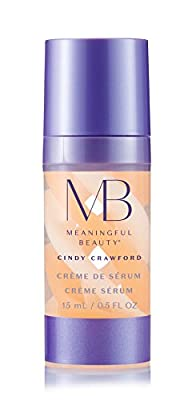 Meaningful Beauty Cr?me de Serum, Night Moisturizer with Melon Extract, Peptides, and Hyaluronic Acid