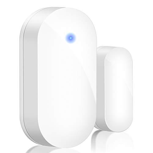 BITIWEND Mini Tür- / Fenstersensor für Eingangsglocke, Kabellose Magnetische Funk Durchgangsmelder, Alarmanlage Sensor für Tür/Fenster(Kein Empfänger)