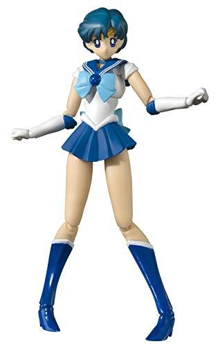 Bandai Tamashii Nations S.H. Figuarts Pretty Guardian Sailor Moon Sailor Mercury Action Figure