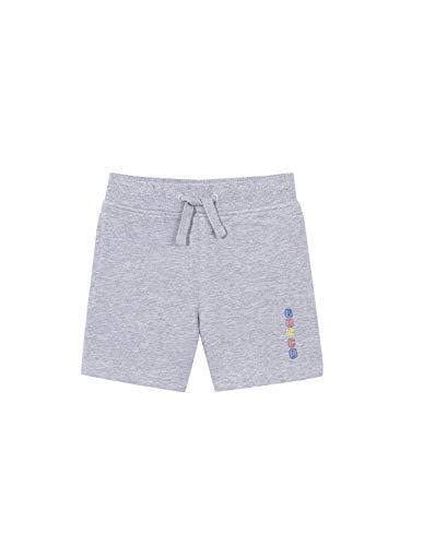 Gocco Pantaon Deporte Pantalones, Gris Claro Melange, 7-8 años para Niños
