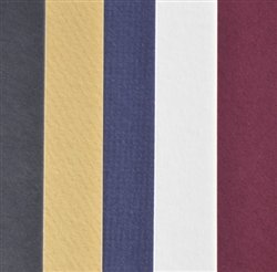 Black, White, Blue, Red, Yellow Full Sheet Mat Board Best Sellers - 25 Pack 32 x 40 Cream Core