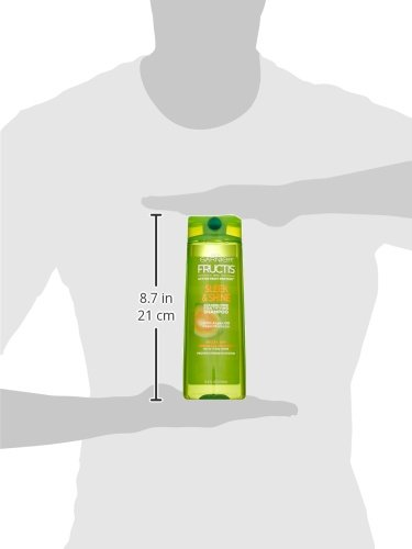 Garnier Fructis Sleek & Shine Shampoo, Frizzy, Dry, Unmanageable Hair, 12.5 fl. oz.