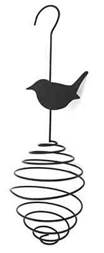 Tige à suspendre mangeoire pour oiseaux en fer forgé