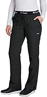 Grey's Anatomy 3-Pocket Draw-Cord Pant for Women - Modern Fit Medical Scrub Pant