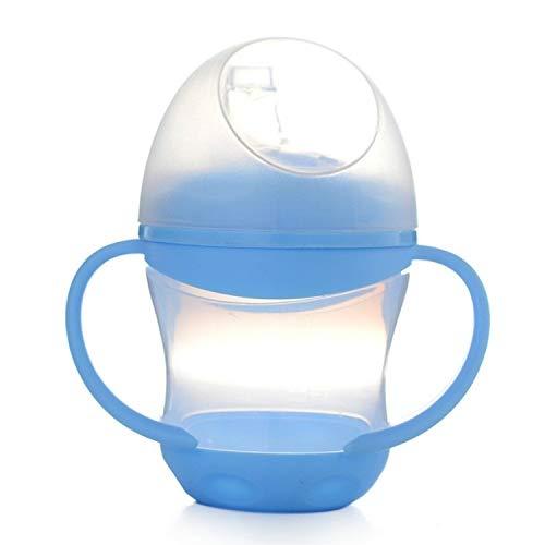 XGQ Patrón Cielo Estrellado térmica Copa Frasco de vacío de Calor del Agua de Botella portátil de Acero Inoxidable Deportes Caldera, Capacidad: 500 ml (Azul) (Color : Blue)