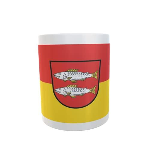 U24 Tasse Kaffeebecher Mug Cup Flagge Forchheim