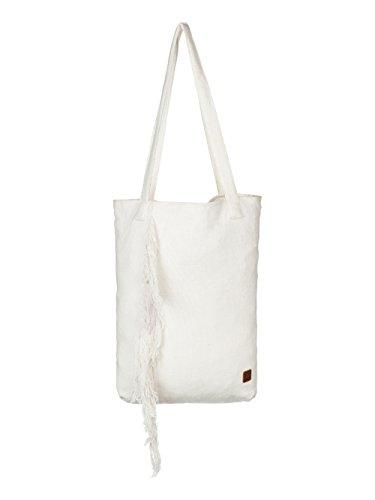 Roxy Damen Take A Bow Baumwolle Handtasche Fransen Design arjbp03074, Elfenbein - YCQ0 - Größe: One Size
