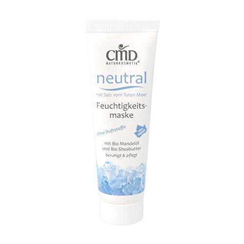 CMD Neutral Feuchtigkeitsmaske mit Salz vom Toten Meer 50 ml bio vegan Naturkosmetik
