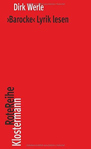 \'Barocke\' Lyrik lesen (Klostermann RoteReihe)