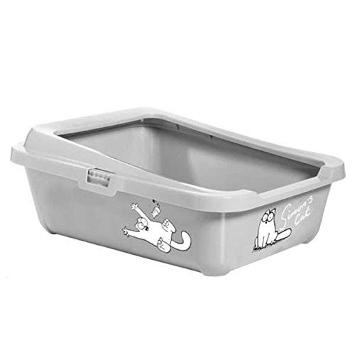 Karlie Simon 's Cat 51756 Cat Litter Caja 43 cm x 32 cm x 16 cm, Color...