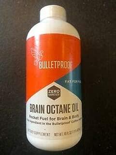 Brain Octane Oil Keto Diet Fat Fuel Energy Performance, 16 fl oz (Pack of 2)