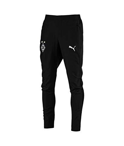 PUMA Herren BMG Training Pants Pockets with Zippers Hose, Black, M